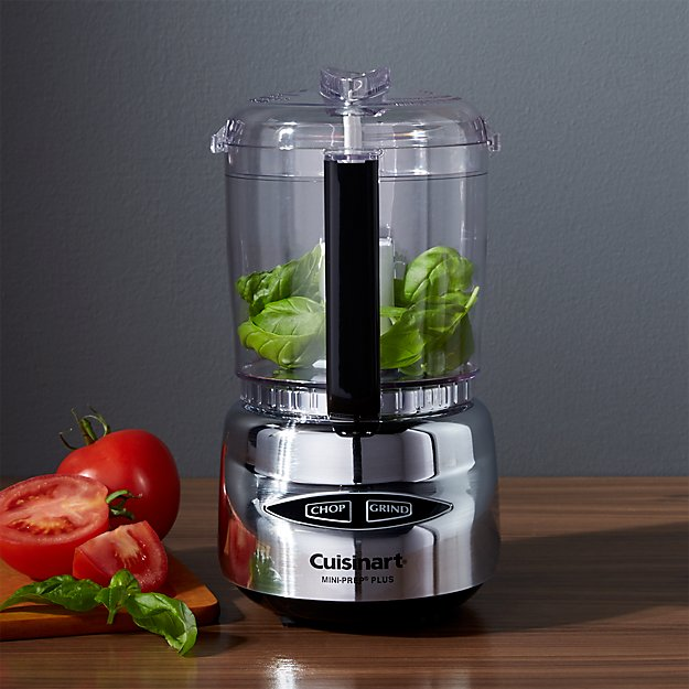 Cuisinart Stainless Steel Mini Prep Plus Reviews Crate And Barrel