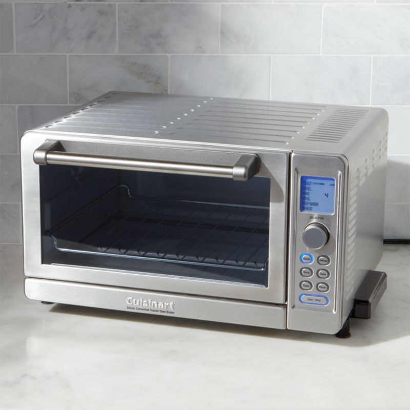 Cuisinart Deluxe Convection Toaster Oven With Broiler