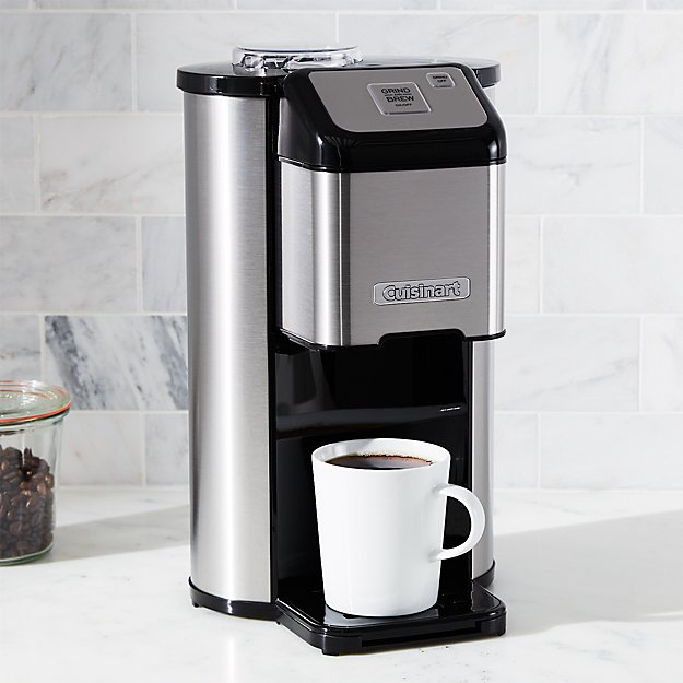 Cuisinart Single Cup Grind and Brew Coffee Maker + Reviews ...