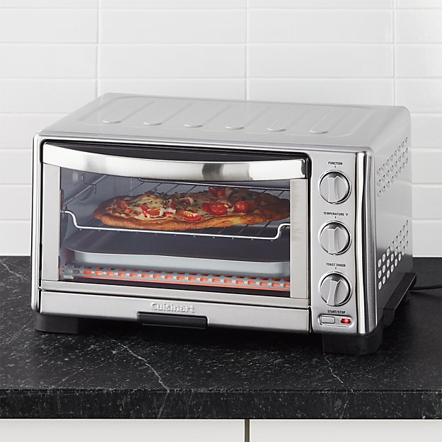 Cb2 Free Shipping >> Cuisinart Toaster Oven Broiler + Reviews | Crate and Barrel