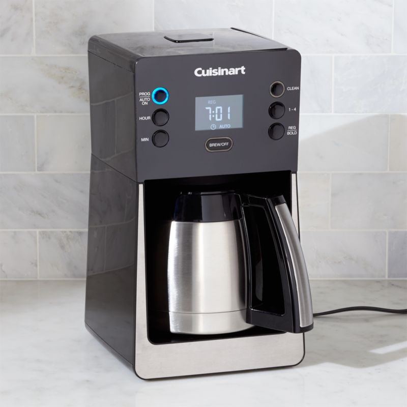 Cuisinart Perfectemp 12-Cup Programmable Coffee Maker with Thermal Carafe Crate and Barrel