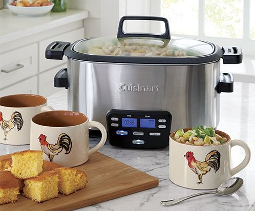 Programmable Cuisinart slow cooker