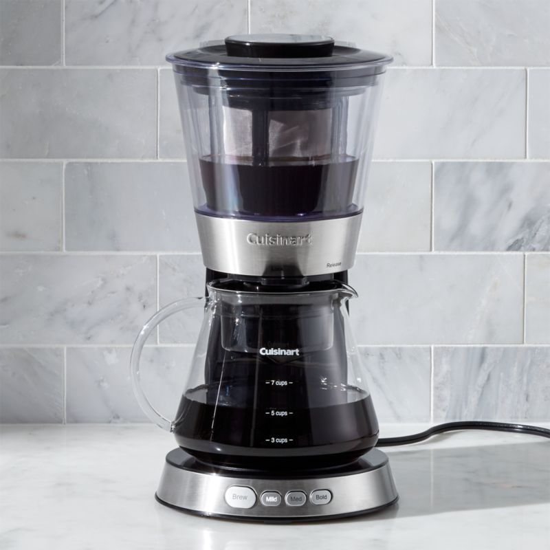 Cold Brew Coffee Maker Large : Cuisinart Cold Brew Coffee Maker Crate and Barrel