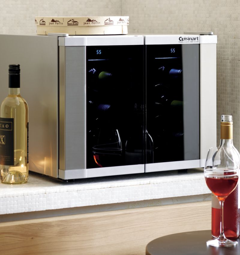 Cuisinart Dual Zone Wine Cooler Reviews Crate And Barrel