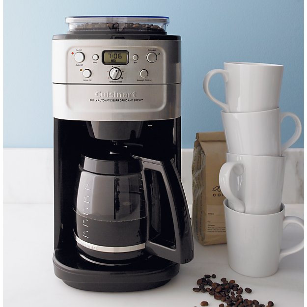 how to clean cuisinart grind and brew coffee maker