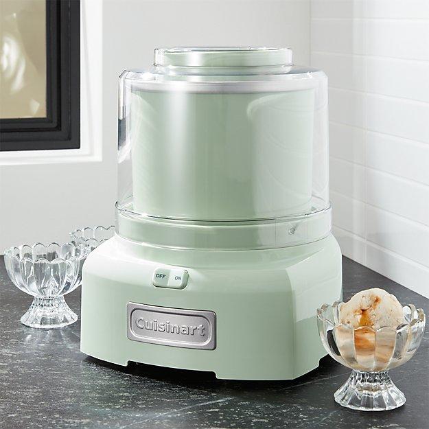 Cuisinart 174 Pistachio Green Ice Cream Maker Frozen Yogurt