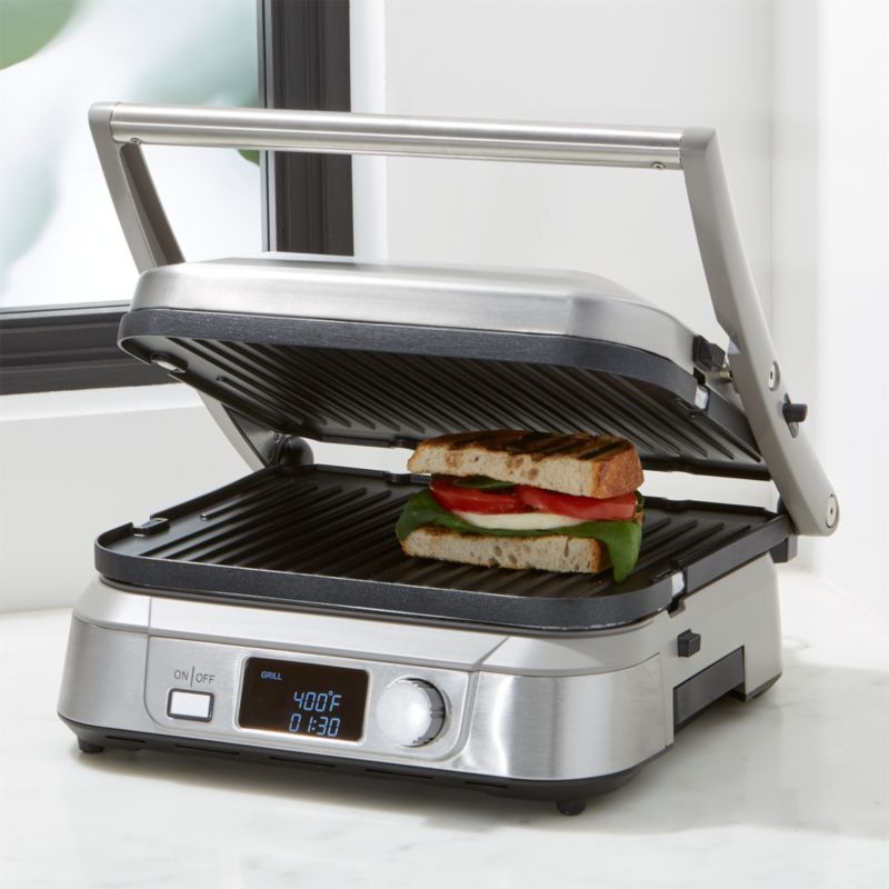 Cuisinart Griddler 5 Reviews Crate And Barrel