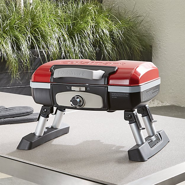 Cuisinart Tabletop Gas Grill Reviews Crate And Barrel