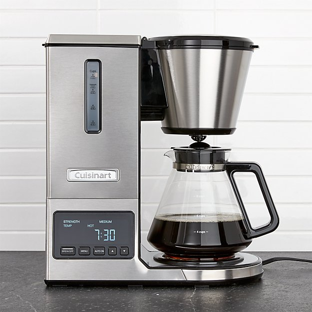 glass coffee maker cuisinart pureprecision 8 cup pour coffee maker with 29294