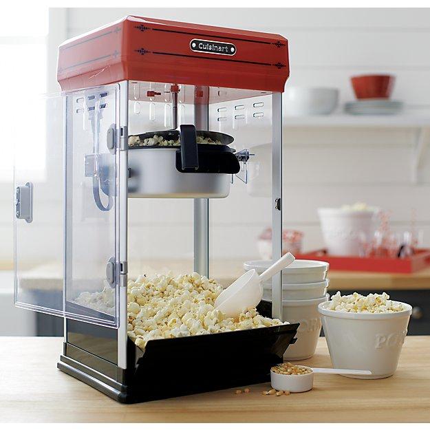 cuisinart professional popcorn maker reviews crate and barrel. Black Bedroom Furniture Sets. Home Design Ideas