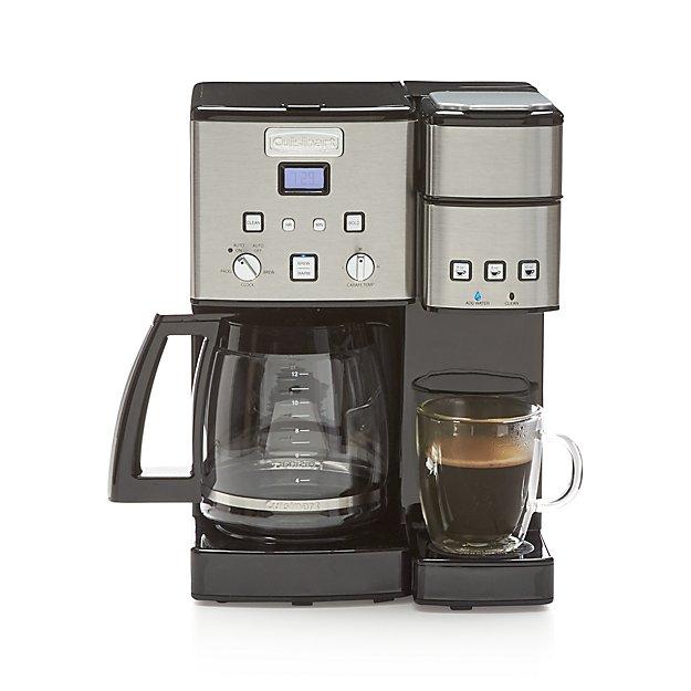 Cuisinart Combination K Cupcarafe Coffee Maker Reviews Crate