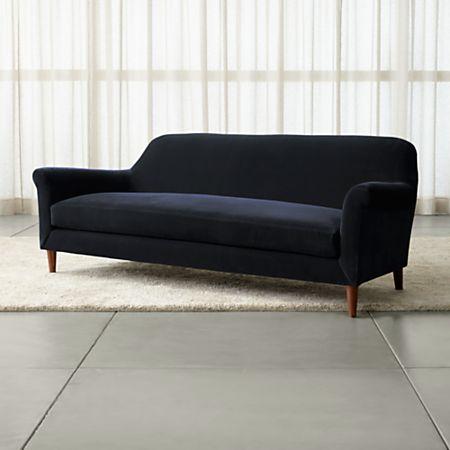 Wondrous Cullen Ii Roll Arm Velvet Sofa Download Free Architecture Designs Viewormadebymaigaardcom