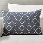 Cuomo Jacquard Pillow with Down-Alternative Insert 22 x15