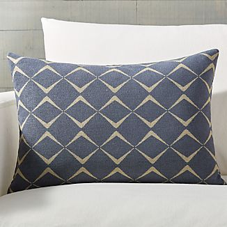 Cuomo Jacquard Pillow With Feather Down Insert ...