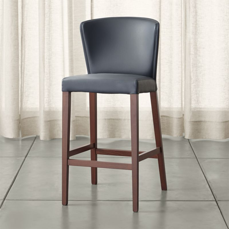 Curran Grey Bar Stool Crate And Barrel