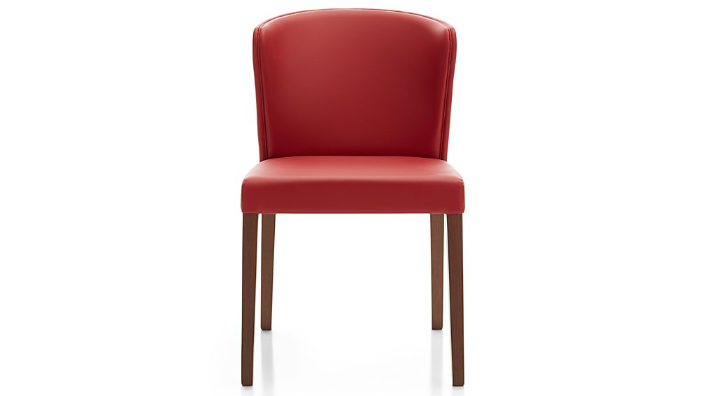 Curran Red Dining Chair Crate and Barrel