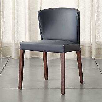 Curran Grey Dining Chair & Shop Dining Chairs u0026 Kitchen Chairs | Crate and Barrel