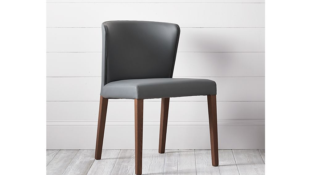 Delightful ... Curran Grey Dining Chair ...