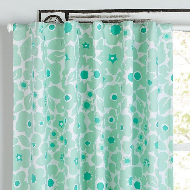 Go Lightly Mint Floral 84 Blackout Curtain Reviews