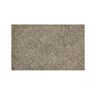 Curtis Flint Grey Wool-Blend 5'x8' Rug