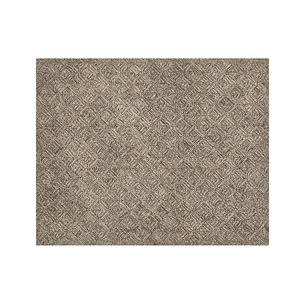 Curtis Flint Grey Wool-Blend 8'x10' Rug