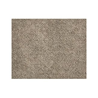 Curtis Flint Grey Wool-Blend 8'x10' Rug
