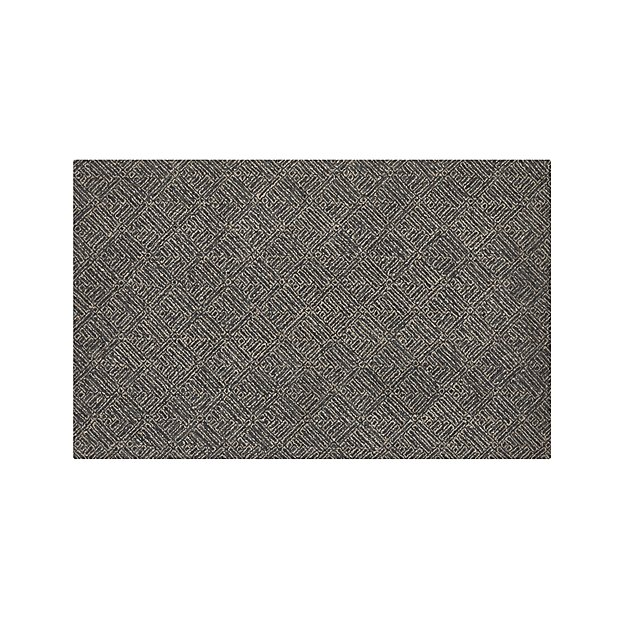 Curtis Indigo Blue Wool-Blend 5'x8' Rug