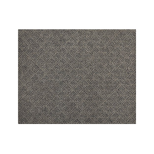 Curtis Indigo Blue Wool-Blend 8'x10' Rug
