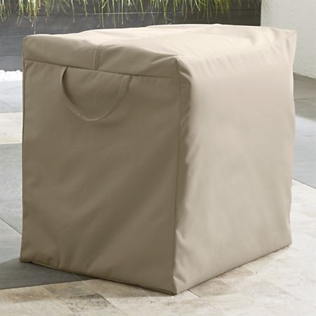 Pleasant Outdoor Dining Lounge Cushion Storage Bag Reviews Crate And Barrel Download Free Architecture Designs Rallybritishbridgeorg
