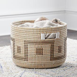 Woven Seagrass Basket
