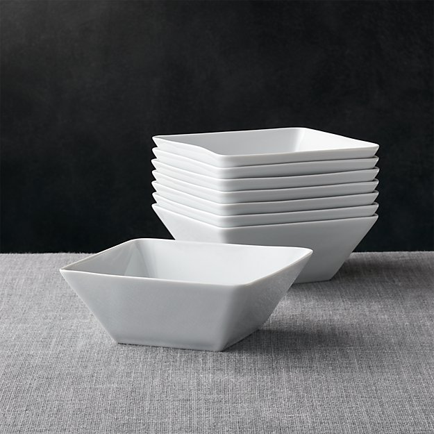 Set of 8 Cyd Bowls