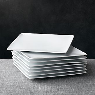 Square Plates Crate And Barrel