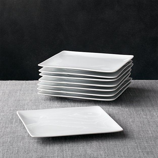 Set of 8 Cyd Salad Plates - Image 1 of 5