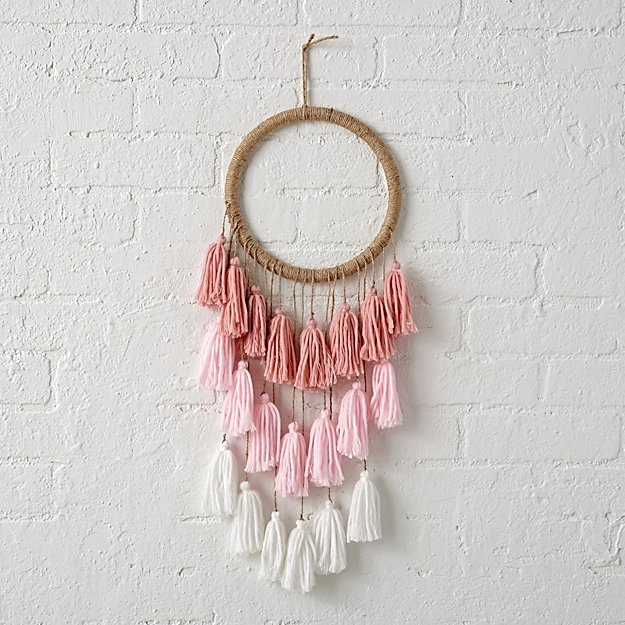 Tassel Dreamcatcher For Kids Reviews Crate And Barrel