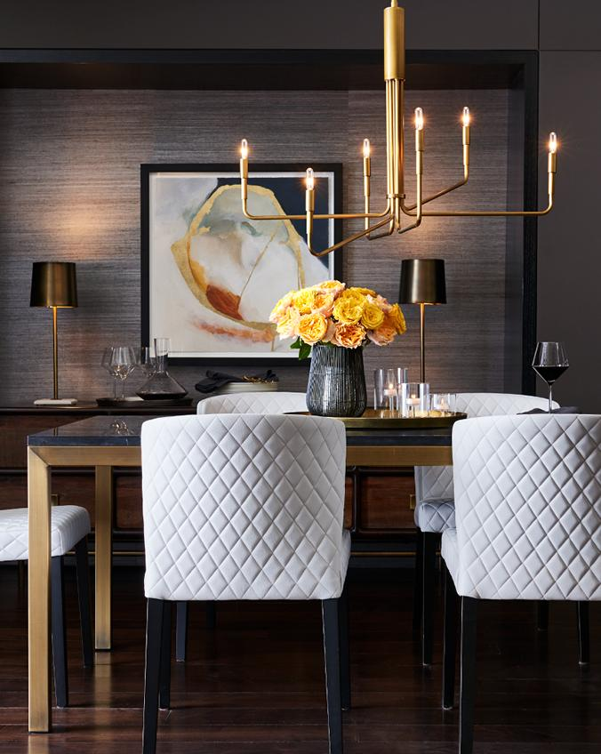 Designer Tip Add Drama To The Dining Room