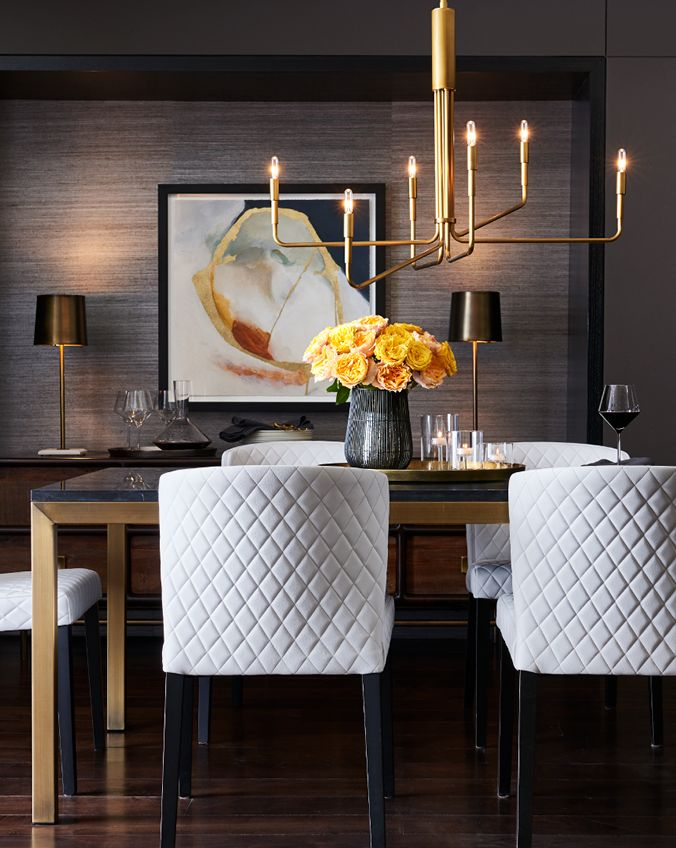 Great Designer Tip: Add Drama To The Dining Room.