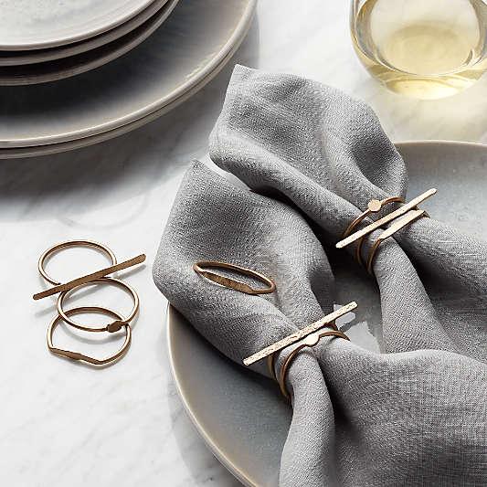 Dainty Napkin Rings, Set of 3
