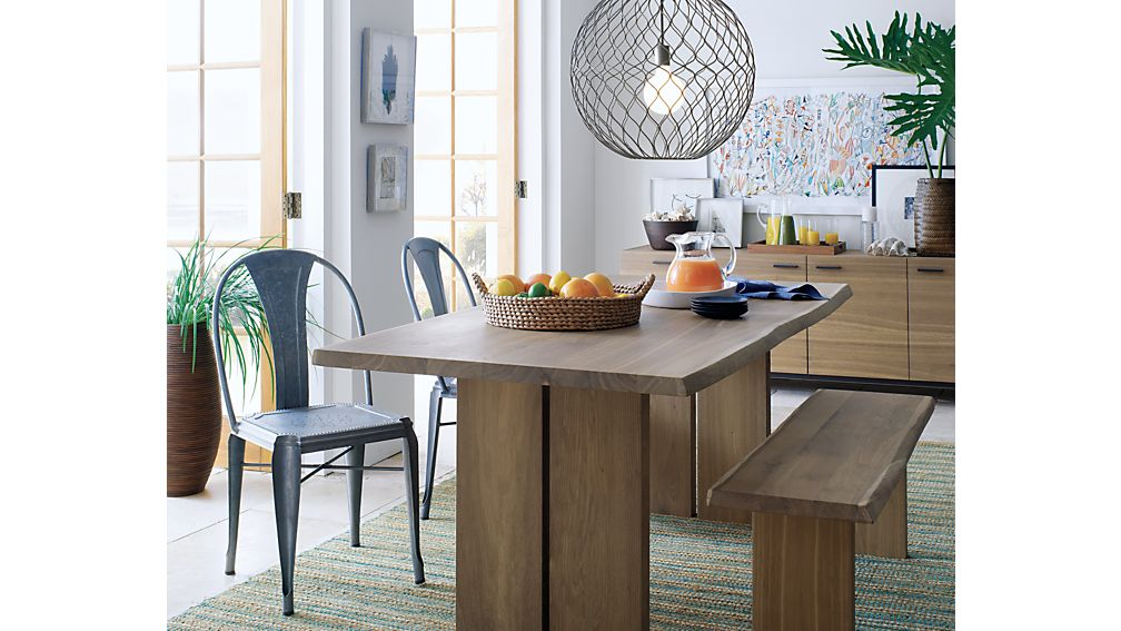 lyle metal dining chair | crate and barrel