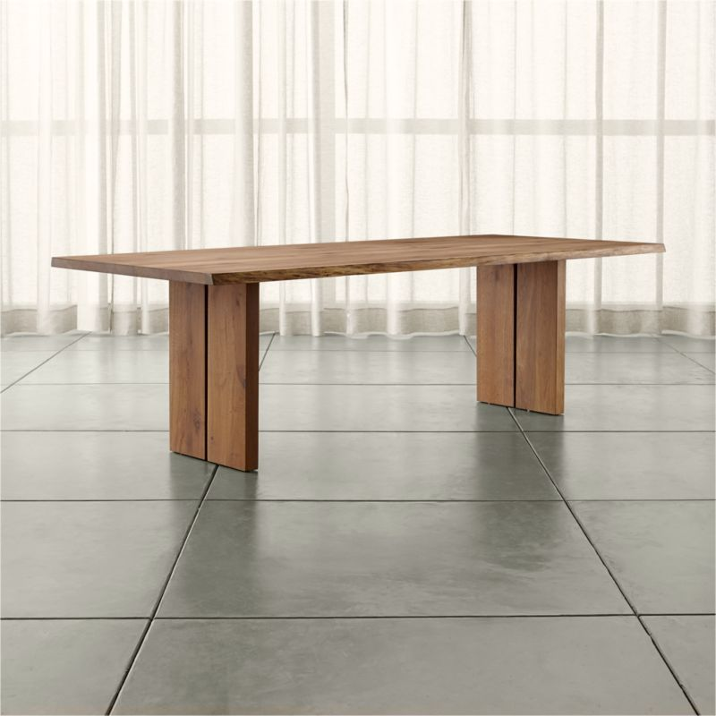 Dakota 99 Quot Dining Table Reviews Crate And Barrel
