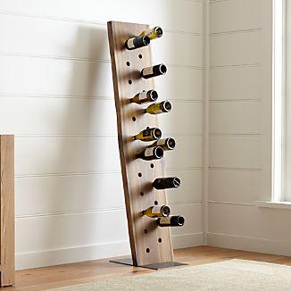 Dakota 24-Bottle Leaning Wine Rack