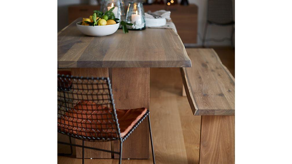 Tig Dining Chair Leather Cushion