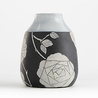 Dalia Terracotta Bud Vase