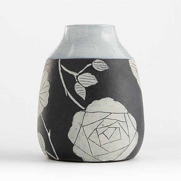 Dalia Terracotta Bud Vase - Image 1 of 3