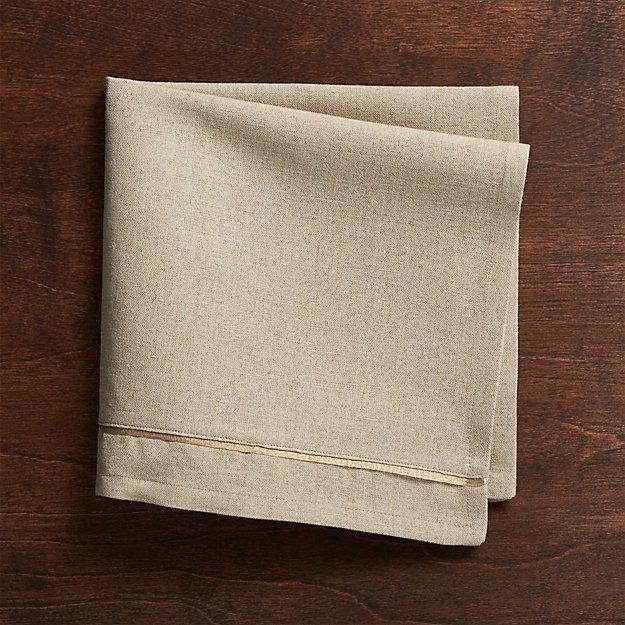 Dalton Neutral Cloth Dinner Napkin - Image 1 of 2