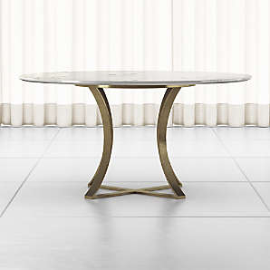 Marble Dining Tables Crate And Barrel