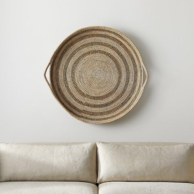 Dana Round Basket Wall Art - Image 1 of 6
