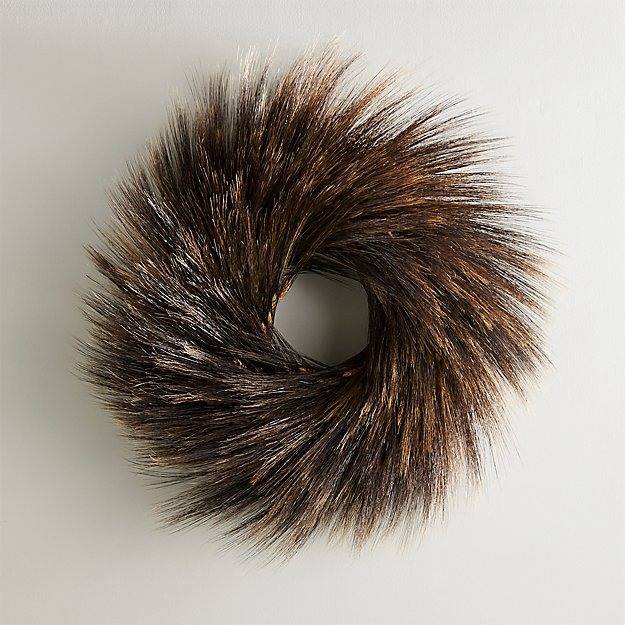 Dark Wheat Wreath