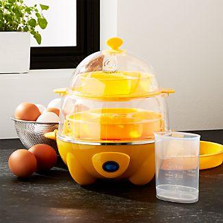 Dash ® Deluxe Yellow  Egg Cooker