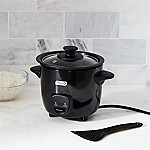 Dash Mini Rice Cooker Black