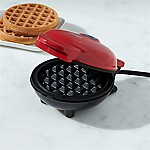 Dash ® Red Mini Waffle Maker